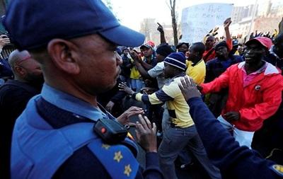 В ЮАР полиция разогнала демонстрантов, протестующих против нехватки туалетов