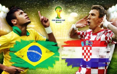 На сайте FIFA появился счет матча Бразилия – Хорватия