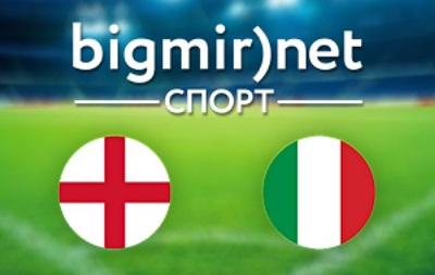 Англия – Италия – 1:2 текстовая трансляция матча чемпионата мира 2014