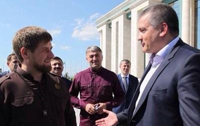 Аксенов вручил Кадырову медаль  За защиту Крыма