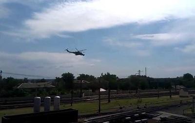 Над Волновахой пролетели вертолеты в сторону Мариуполя