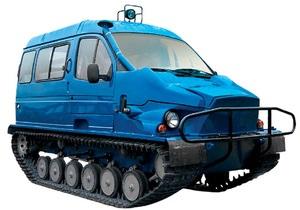 В России поставят на конвейер снегоболотоход
