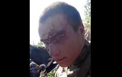 Интервью с пленным украинским солдатом - видео