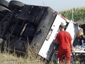 В Польше перевернулся автобус с белорусами: девять человек оказались в реанимации