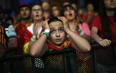 13 миллионов испанцев следили за горьким поражением своей сборной