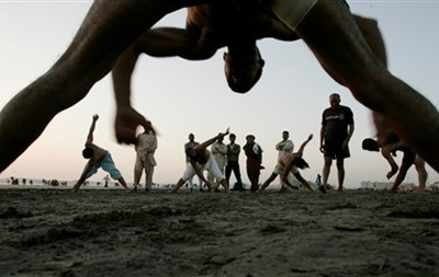 Олимпийцы проведут зарядку с киевлянами
