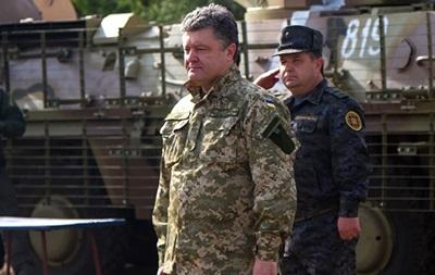Порошенко представил мирный план урегулирования ситуации на Донбассе