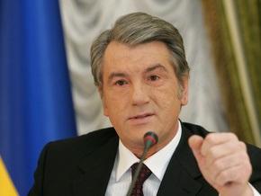 Ющенко не будет отчитываться перед депутатами