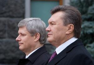 The Globe and Mail: Стивен Харпер придает особое значение свободе в Украине