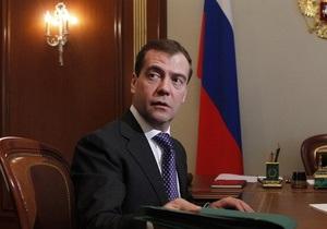 Медведеву больно смотреть на отношение властей Украины, Грузии и Эстонии к памяти о войне