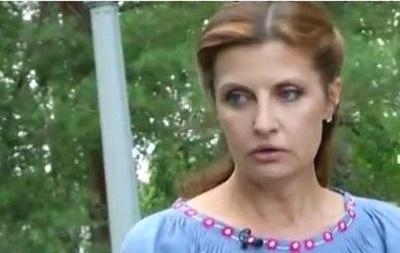 Первая леди Украины дала видеоинтервью
