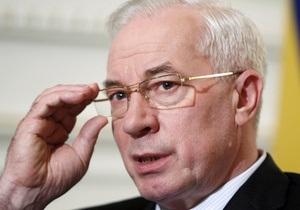 Азаров поручил Попову обустроить парк возле Аскольдовой могилы