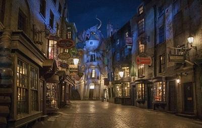 Косой переулок из Гарри Поттера воссоздали в реальности
