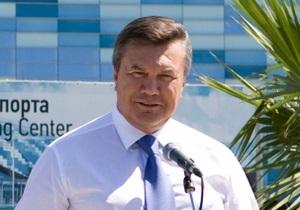 Янукович обеспокоился финансовой системой страны