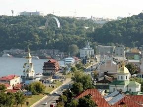 В центре Киева на неделю ограничено движение транспорта