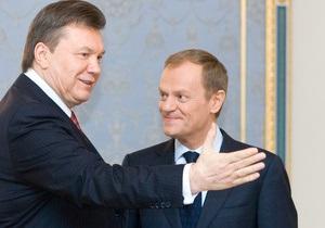 Туск заявил, что ЕС вряд ли отменит визы для украинцев в этом году