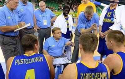 Фрателло огласил заявку сборной Украины на ЧМ по баскетболу