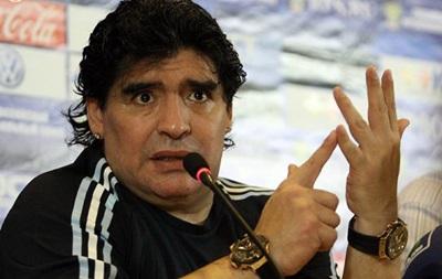 Марадона считает, что дисквалификация Суареса – дело рук мафии