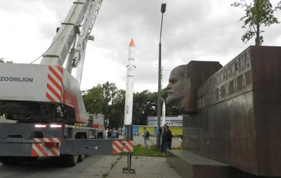 В Днепропетровске вместо Ленина установят памятник десантникам, погибшим в Ил-76
