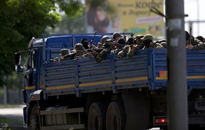 Зону АТО покидают боевики из Крыма и Кавказа - Минобороны