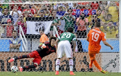 Чемпионат мира: Голландия с большим трудом вырывает победу у Мексики