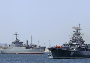 Российский адмирал считает, что Украина препятствует наращиванию военной мощи ЧФ РФ