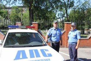 В зону АТО отправились 20 инспекторов ГАИ из Киева