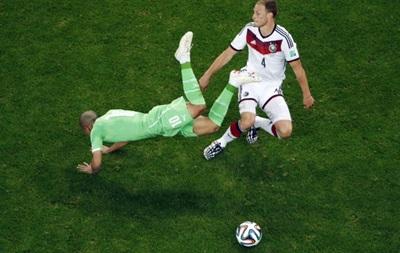 Чемпионат мира: Германия в дополнительное время вырывает путевку в четвертьфинал