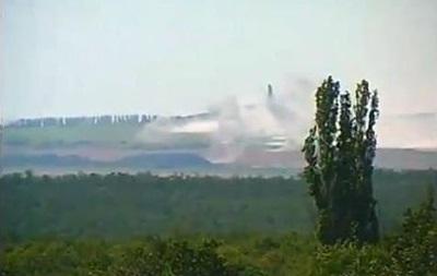 В Донецкой области под Саур-Могилой идут бои