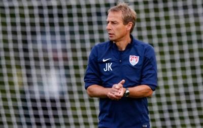 Клинсманн: Шансы сборной США пройти Бельгию - 50 на 50