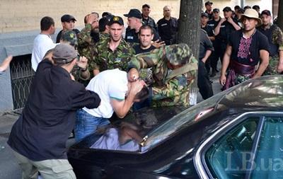 В милиции открыли уголовное производство в отношении митингующих возле Рады