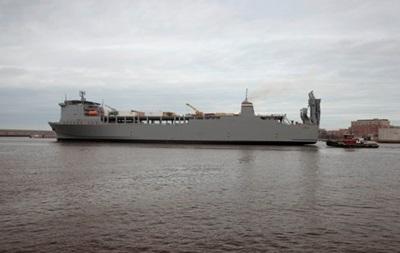 Судно Cape Ray с сирийским химоружием покинуло итальянский порт