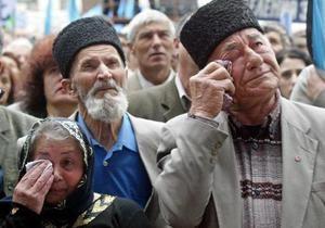 Ъ: В Симферополе начались нападения на крымских татар