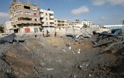 ВВС Израиля атаковали 10 целей в секторе Газа