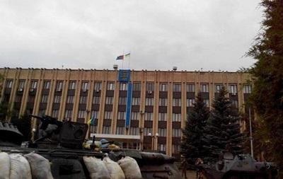 Над Артемовском и Дружковкой подняли украинский флаг