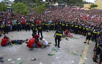 Трое болельщиков Коста-Рики получили ранения во время просмотра матча против Голландии