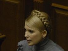 Тимошенко не смогла дозвониться на горячую линию по вкладам Сбербанка