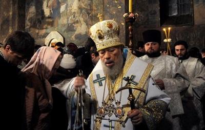 Похороны митрополита Владимира