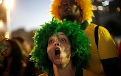 Матч Бразилия - Германия