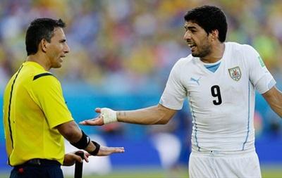 Полуфинальный матч между Бразилией и Германией рассудит арбитр, не заметивший укус Суареса