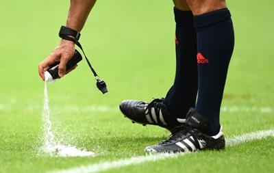 Исчезающий спрей будет применяться в Лиге чемпионов с нового сезона