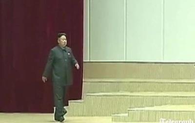 Телевидение КНДР показало хромающего Ким Чен Уна