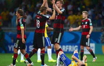 Диего Марадона: Германия обыграла Бразилию как детей