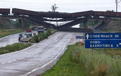 Сепаратисты намерены массово взрывать мосты