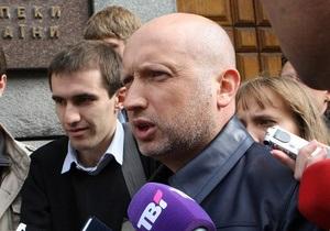 Турчинов в четвертый раз прибыл на допрос в СБУ
