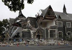 Жертвами землетрясения в Новой Зеландии стали 65 человек
