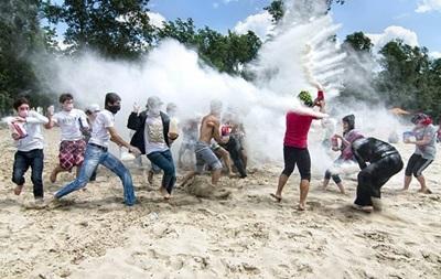 На Трухановом острове пройдет война мукой