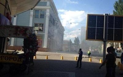 В Центральном универмаге Донецка прогремел взрыв
