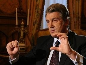 Ющенко вышел к представителям игорного бизнеса