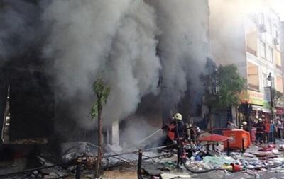 В центре Стамбула произошел мощный взрыв в жилом доме